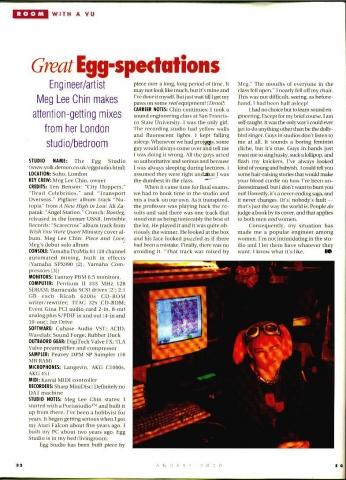EQ Magazine featuring Meg Lee Chin